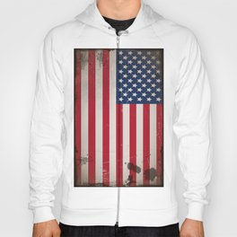 Vintage USA Flag Hoody
