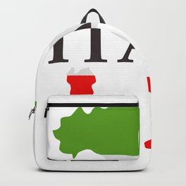 Italy map Backpack