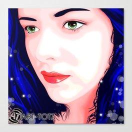 Carmen Mi Amor Canvas Print