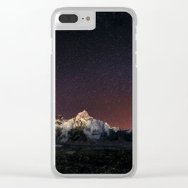 Everest Nightscape Clear iPhone Case