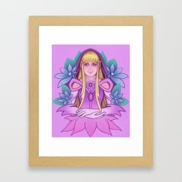 Relena Framed Art Print