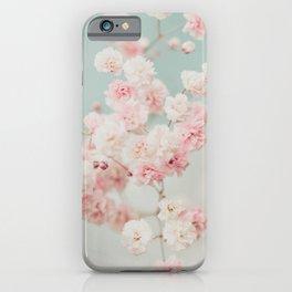 Gypsophila pink blush ll iPhone Case