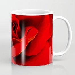 Red Red Rose Flower A218 Coffee Mug