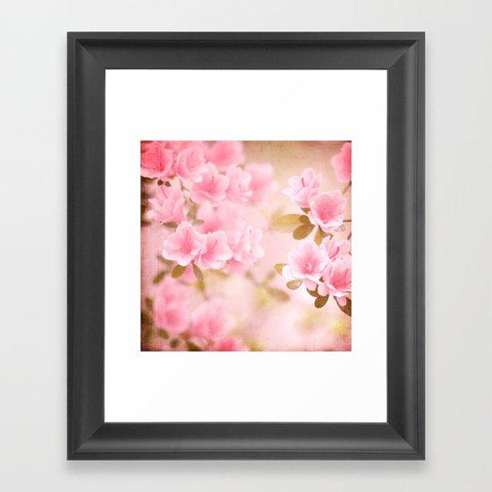 Thinking Springtime Framed Art Print