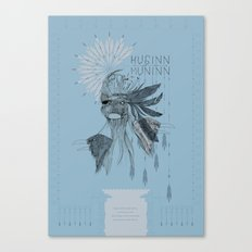 Huginn and Muninn Canvas Print