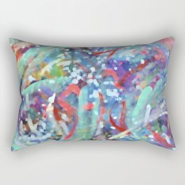 Abstract painting 3 Rectangular Pillow