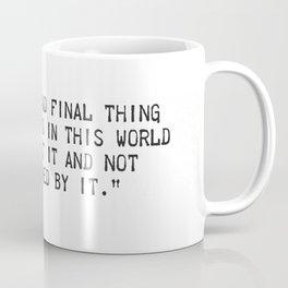 Ernest Hemingway quote two Coffee Mug