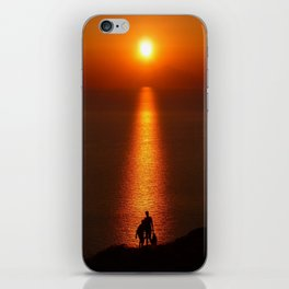 Walk The Path To The Sun iPhone Skin
