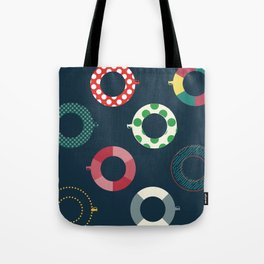 floating tire Tote Bag