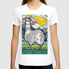 Llama and Andes T-shirt