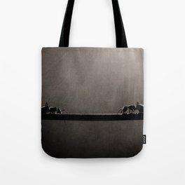 Ant Showdown Tote Bag