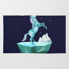 unicorn in the universe Rug