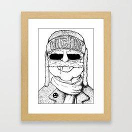 Bitchin' Framed Art Print