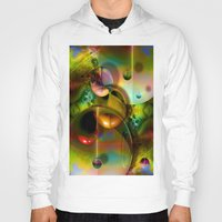 cosmos Hoodies featuring Cosmos by Robin Curtiss