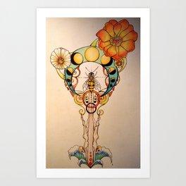 Brenna's Dive  Art Print