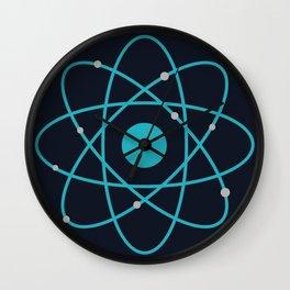 Atom, Molecules, DNA, Science decor, science class Wall Clock