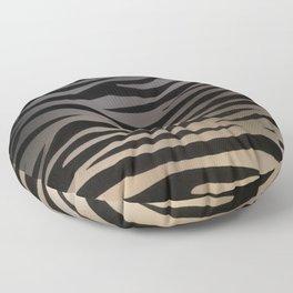 Zebra Sunset Floor Pillow