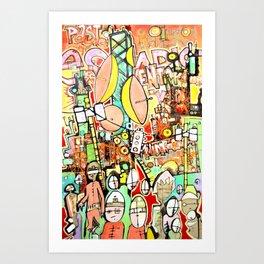 Paste Escapist Art Print