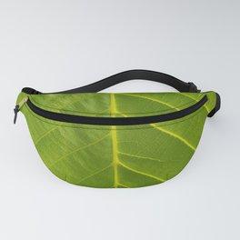 Chestnut green leaf Fanny Pack