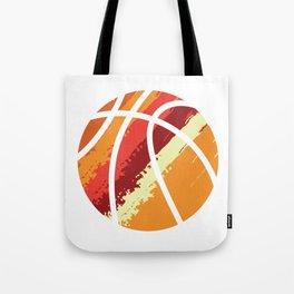 MVP Players League Ball Shoot Ring Play Team Injury Homecourt Sports T-shirt Design Basketball Tote Bag