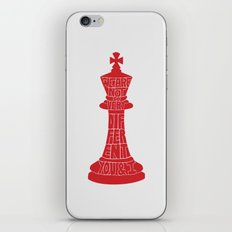 We Are Not So Very Different -Tinker Tailor Soldier Spy iPhone & iPod Skin