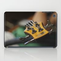 bass iPad Cases featuring Bass by Gaby Mabromata
