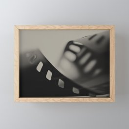 Film Background Framed Mini Art Print