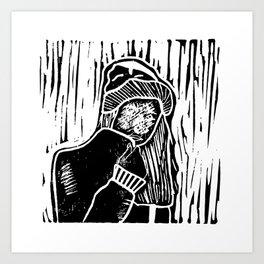 all is gud in me hud Art Print
