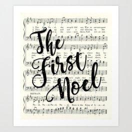 The First Noel Art Print