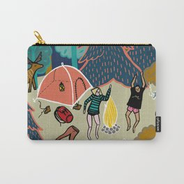 Welcome to Our Place in the Woods Carry-All Pouch