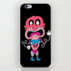Red Face Weirdo iPhone & iPod Skin