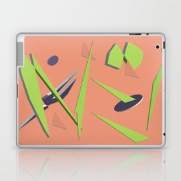 80s Shapes, Colors and Space Laptop & iPad Skin