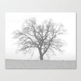 Grey Winter Canvas Print