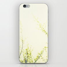 Her Thoughts Were Like Flowers Floating to the Sky iPhone & iPod Skin