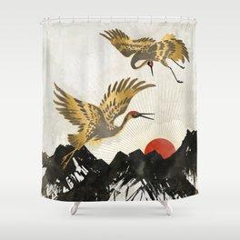 Elegant Flight II Shower Curtain