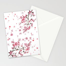 Plum Blossoms in Spring (Ume) Stationery Cards