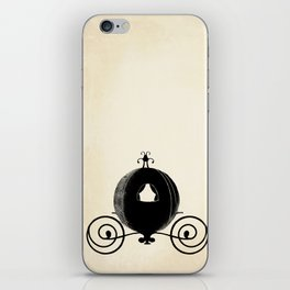 Midnight Carriage iPhone Skin