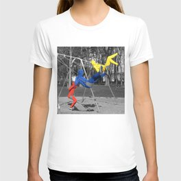 Free Spirits in Spandex - Color Pop T-shirt