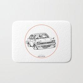 Crazy Car Art 0189 Bath Mat