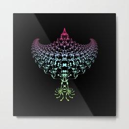 Rainbow Eagle Metal Print