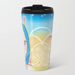 Dawn of the New Age Travel Mug
