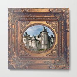 saumur chateau Metal Print