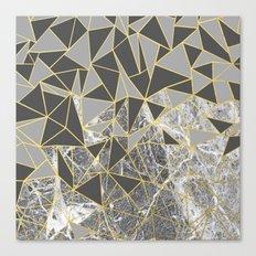 Ab Marb Grey Returned Canvas Print
