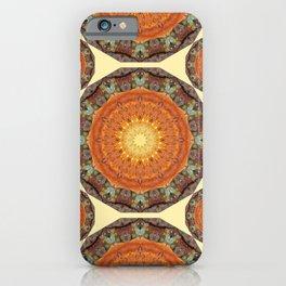 Rust-Art / mandala-style-rust iPhone Case
