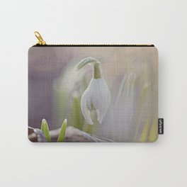 Snow Drop Carry-All Pouch