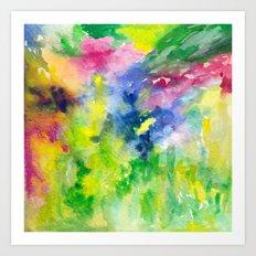 GardeN Palette Art Print