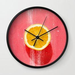 fruit 5 Wall Clock