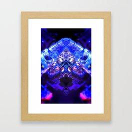 rorscach palais royal brussels belgium ice magic symmetry rorschach caleidoscope 10 Framed Art Print