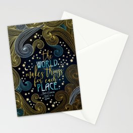 Rebel Of The Sands - For Each Place Stationery Cards