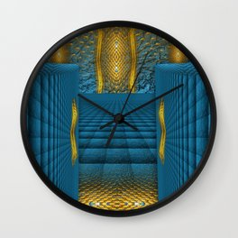 The Temple in my heart   Wall Clock